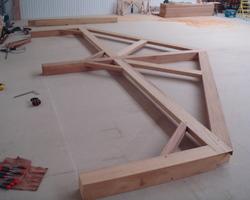 Morvan Charpente - Kerfourn - Nos réalisations - Fabrication à l'atelier